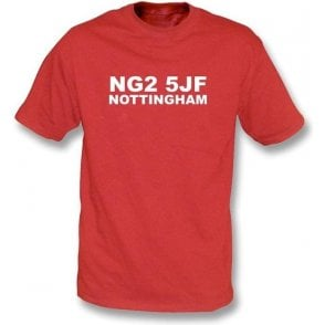 NG2 5JF Nottingham T-Shirt (Nottingham Forest)