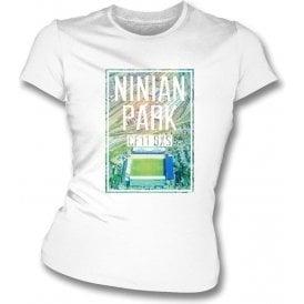 Ninian Park CF11 0XS (Cardiff) Women's Slimfit T-Shirt