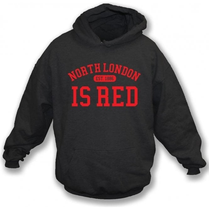 North London Is Red (Arsenal) Kids Hooded Sweatshirt