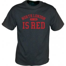 North London Is Red (Arsenal) Vintage Wash T-Shirt