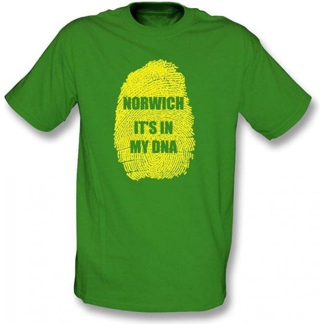 Norwich - It's In My DNA T-Shirt