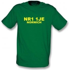 NR1 1JE Norwich T-Shirt (Norwich City)