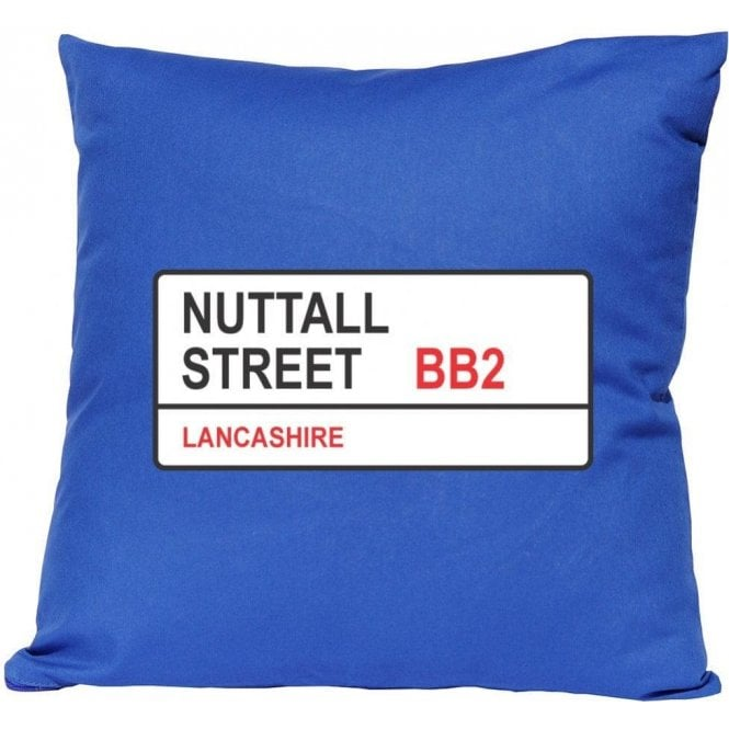 Nuttall Street BB2 (Blackburn) Cushion