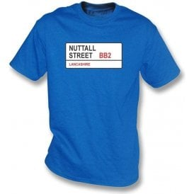 Nuttall Street BB2 T-Shirt (Blackburn Rovers)