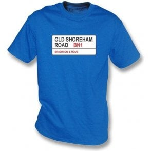 Old Shoreham Road BN1 T-Shirt (Brighton)