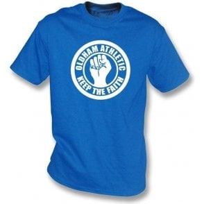 Oldham Keep the Faith T-shirt