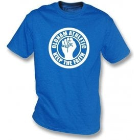 Oldham Keep the Faith T-shirt