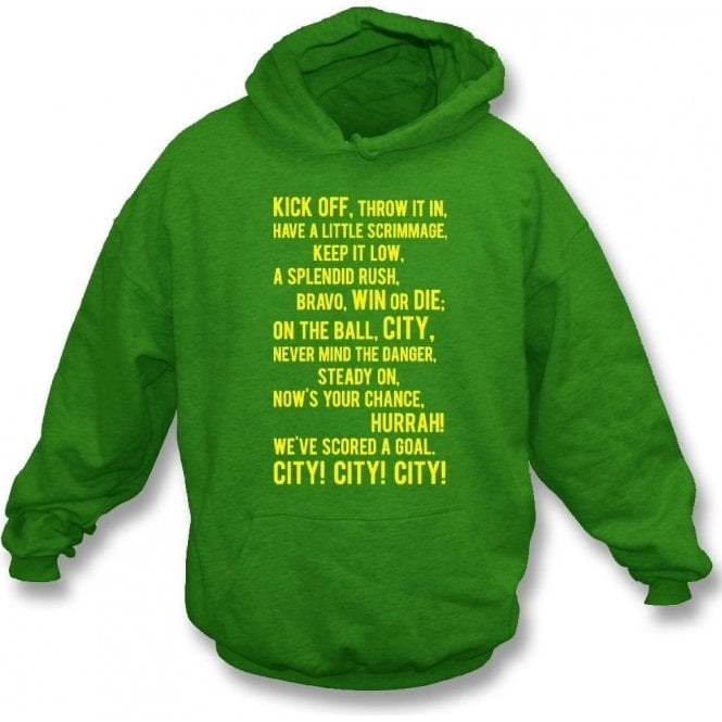 On the Ball, City Hooded Sweatshirt (Norwich City)