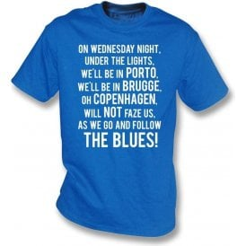 On Wednesday Nights... (Leicester City) Kids T-Shirt