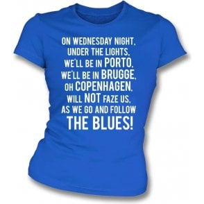On Wednesday Nights... (Leicester City) Womens Slim Fit T-Shirt