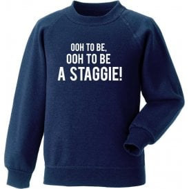 Ooh To Be A Staggie (Ross County) Sweatshirt