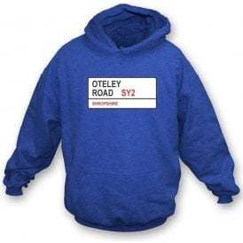 Oteley Road SY2 Hooded Sweatshirt (Shrewsbury Town)