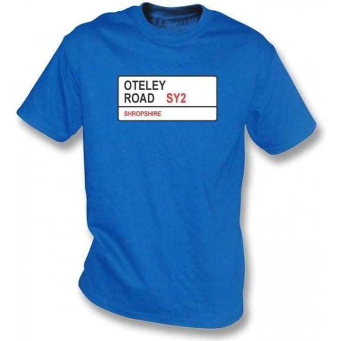Oteley Road SY2 T-Shirt (Shrewsbury Town)