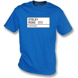Oteley Road SY2 T-Shirt (Shrewsbury Town)