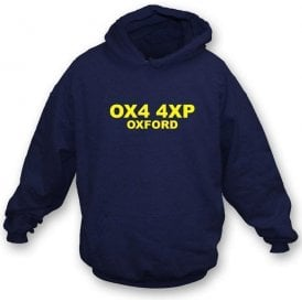 OX4 4XP Oxford Hooded Sweatshirt (Oxford United)