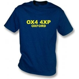 OX4 4XP Oxford T-Shirt (Oxford United)
