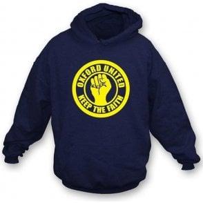 Oxford Keep the Faith Hooded Sweatshirt
