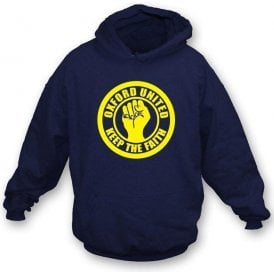 Oxford Keep the Faith Hooded Sweatshirt