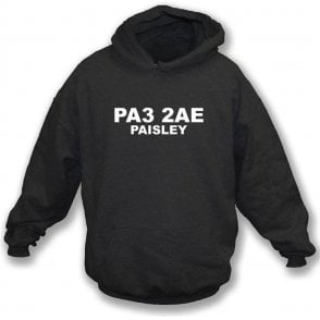 PA3 2AE Paisley Hooded Sweatshirt (St Mirren)