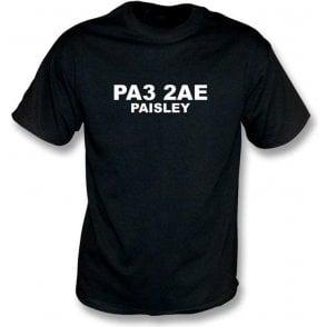 PA3 2AE Paisley T-Shirt (St Mirren)