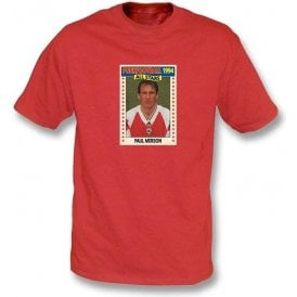 Paul Merson 1994 (Arsenal) Red T-Shirt