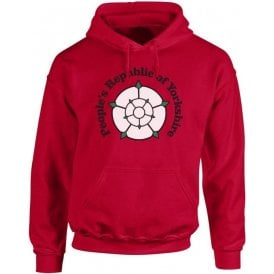 People's Republic Of Yorkshire (Barnsley) Kids Hooded Sweatshirt