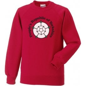 People's Republic Of Yorkshire (Barnsley) Kids Sweatshirt