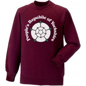 People's Republic Of Yorkshire (Bradford City) Kids Sweatshirt