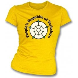 People's Republic Of Yorkshire (Hull City) Womens Slim Fit T-Shirt