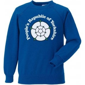 People's Republic Of Yorkshire (Leeds United) Kids Sweatshirt