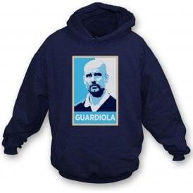 Pep Guardiola - Hope Poster (Manchester City) Kids Hooded Sweatshirt