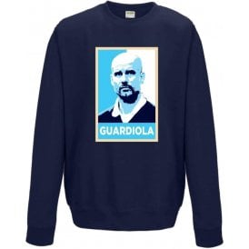 Pep Guardiola - Hope Poster (Manchester City) Sweatshirt