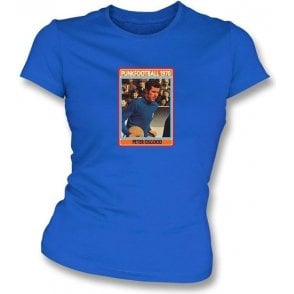 Peter Osgood 1970 (Chelsea) Royal Blue Women's Slimfit T-Shirt