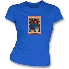 Peter Osgood 1970 (Chelsea) Royal Blue Women's Slimfit T-Shirt