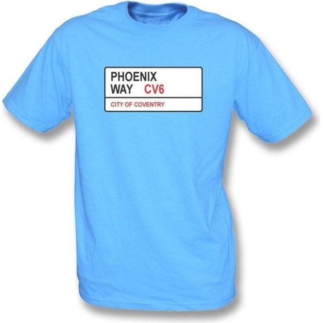 Phoenix Way CV6 T-Shirt (Coventry City)