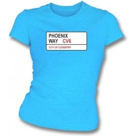Phoenix Way CV6 Women's Slimfit T-Shirt (Coventry City)