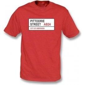 Pittodrie Street AB24 T-Shirt (Aberdeen)