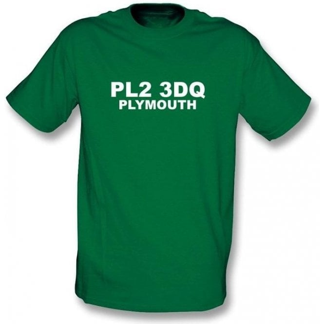 PL2 3DQ Plymouth T-Shirt (Plymouth Argyle)