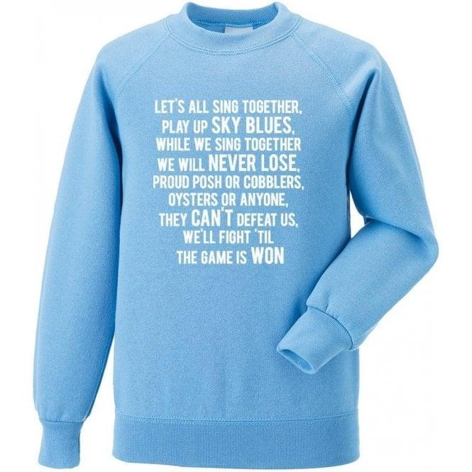 Play Up Sky Blues (Coventry City) Sweatshirt