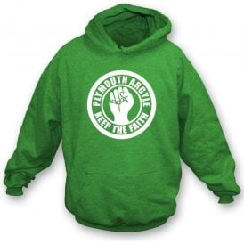 Plymouth Keep the Faith Hooded Sweatshirt