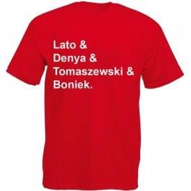 Poland World Cup 1978 Kids T-Shirt