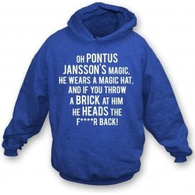 Pontus Jansson's Magic (Leeds United) Hooded Sweatshirt