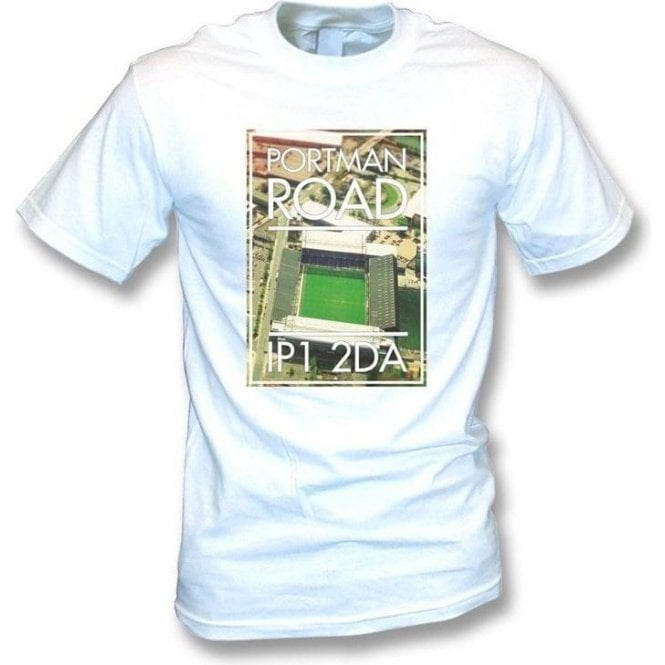 Portman Road IP1 2DA (Ipswich) T-shirt