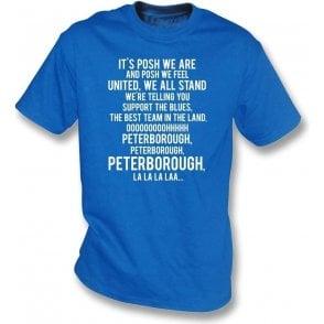 Posh We Are (Peterborough United) T-Shirt