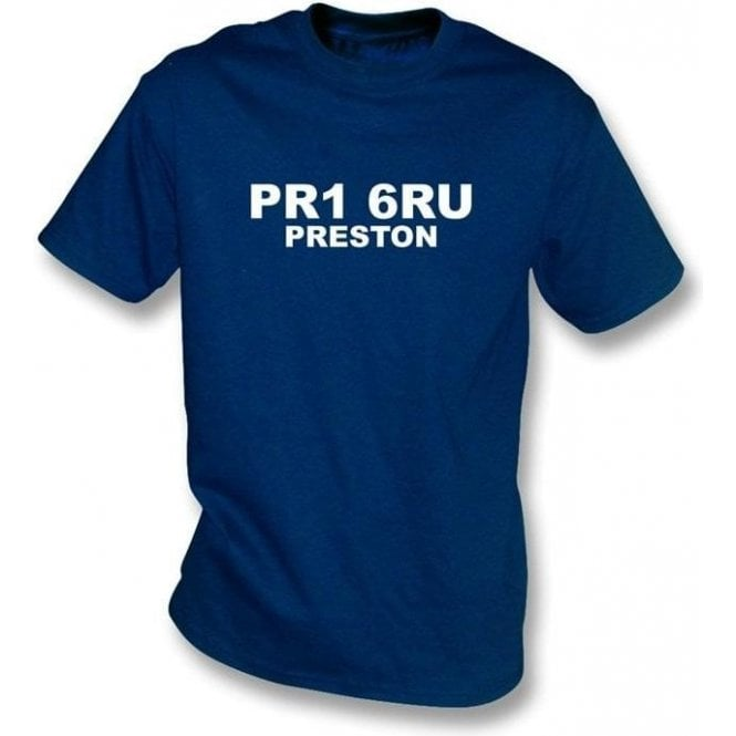 PR1 6RU Preston T-Shirt (Preston North End)