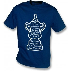 Preston North End 1938 FA Cup Winners Kids T-Shirt