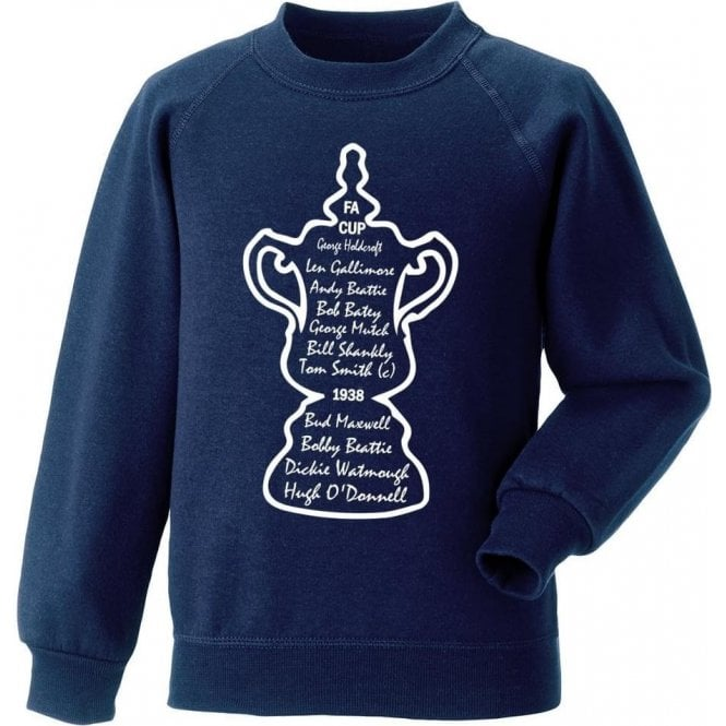 Preston North End 1938 FA Cup Winners Sweatshirt