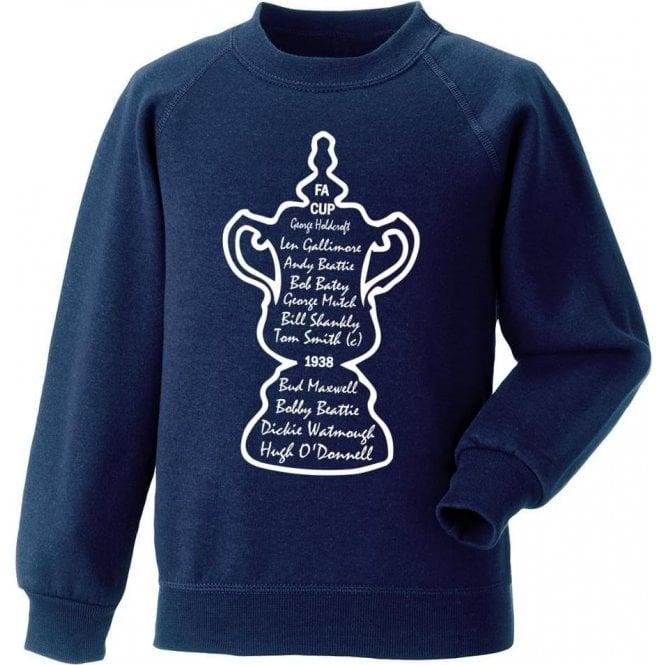 Preston North End 1938 FA Cup Winners Sweatshirt