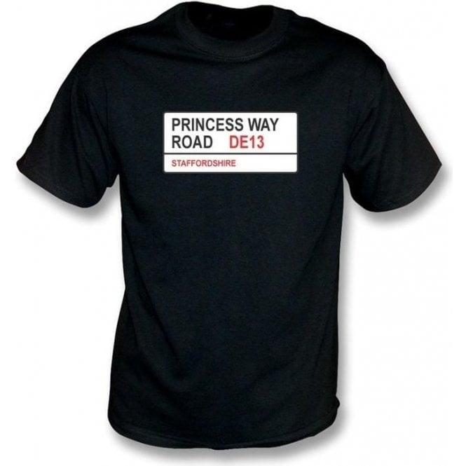 Princess Way Road DE13 T-Shirt (Burton Albion)