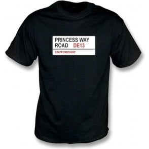 Princess Way Road DE13 T-Shirt (Burton Albion)